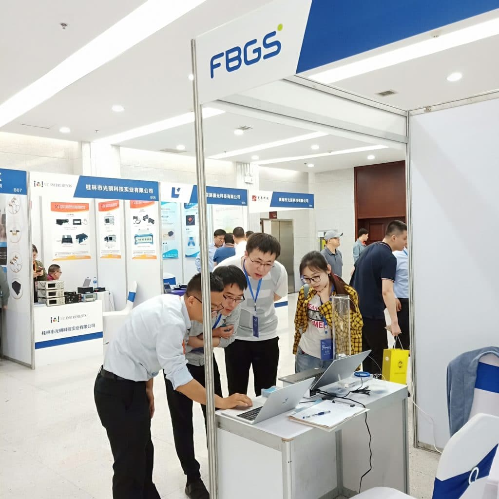 FBGS booth at OFS China.