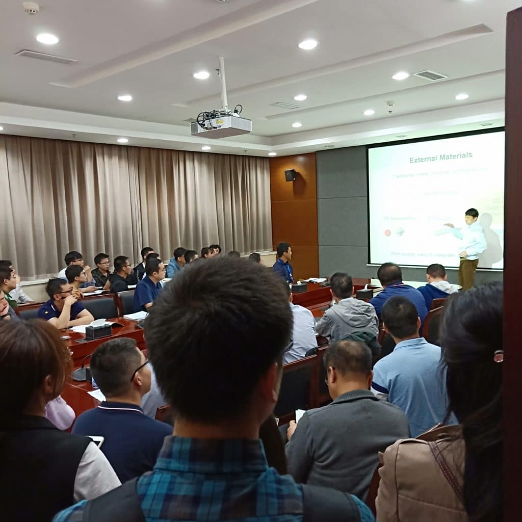 Talk at OFS China.